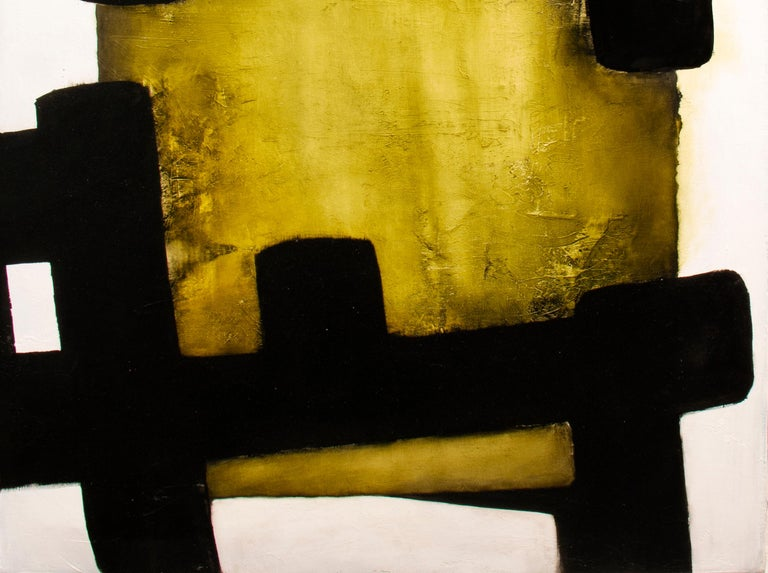 White Eolithe, Contemporary Abstract Oil Painting For Sale 3