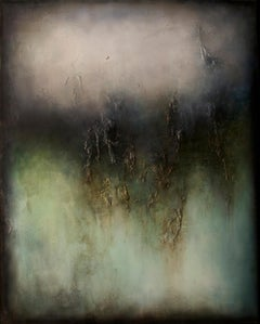 Nocturne II, Contemporary Abstract Oil Painting