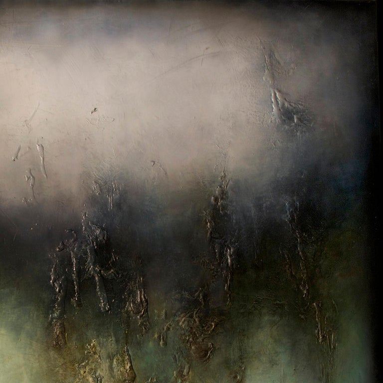 Nocturne II, Contemporary Abstract Oil Painting For Sale 2