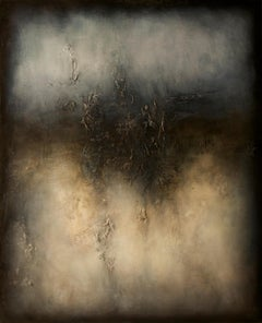 Nocturne, Contemporary Abstract Oil Painting
