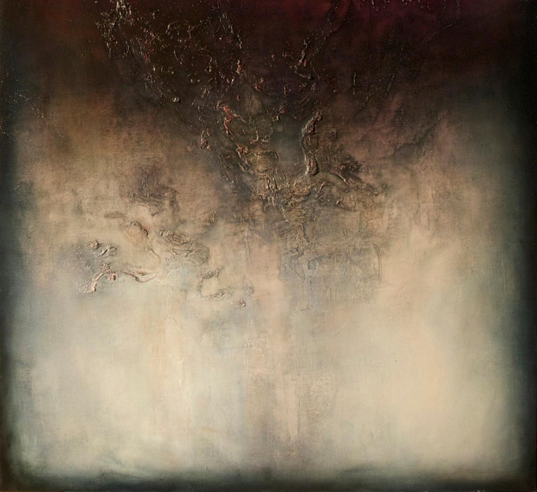 Nocturne IV is a Contemporary Abstract Oil Painting by Alexandre Valette who has a master degree in Art History and is a complete artist, influenced by the work of the great masters. He explores from a young age drawing through the human anatomy and