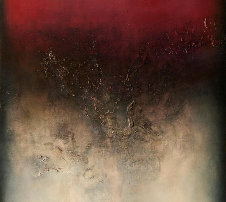 Nocturne IV, Contemporary Abstract Oil Painting For Sale 1