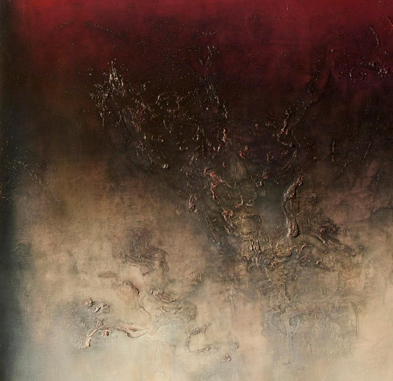 Nocturne IV, Contemporary Abstract Oil Painting For Sale 2