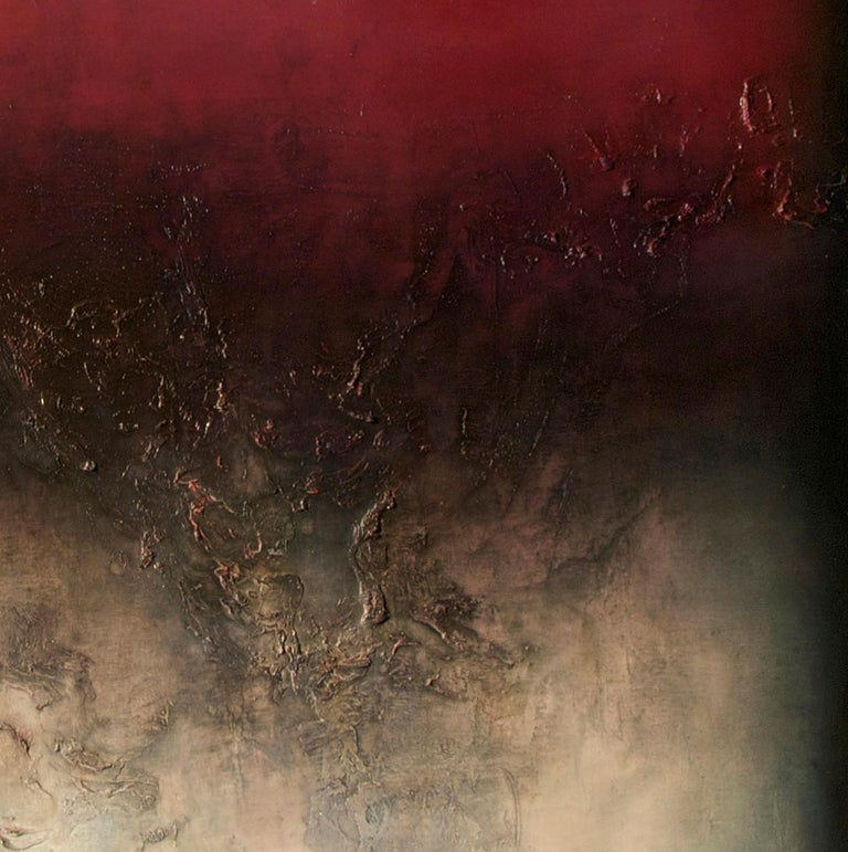 Nocturne IV, Contemporary Abstract Oil Painting For Sale 3