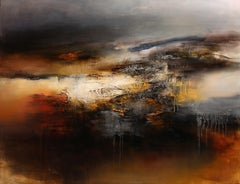 Grand Contraste Horizontal, Contemporary Abstract Oil Painting