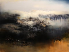 Le Gris, Contemporary Abstract Oil Painting