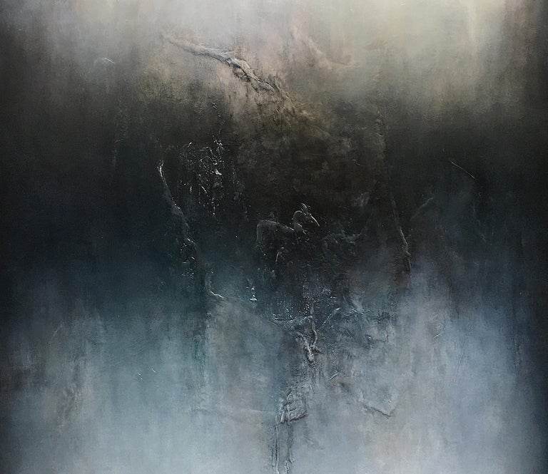 Nocturne VI, Contemporary Abstract Oil Painting For Sale 1