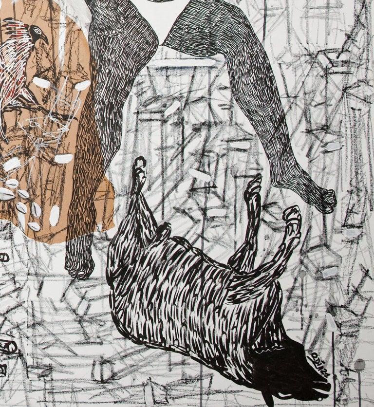 African Contemporary Art - Pacte Mystique For Sale 2