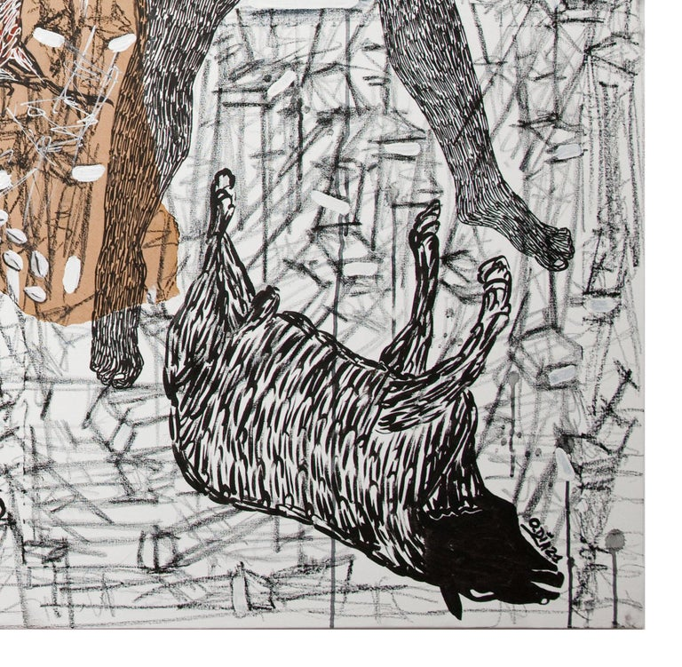 African Contemporary Art - Pacte Mystique For Sale 4