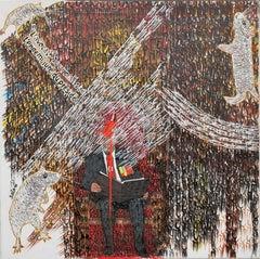 """""""La chaussure, cadeau du Président"""" - African Contemporary Art"""