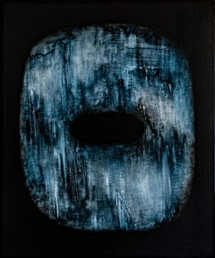 Tsuba II, Contemporary Abstract Oil Painting