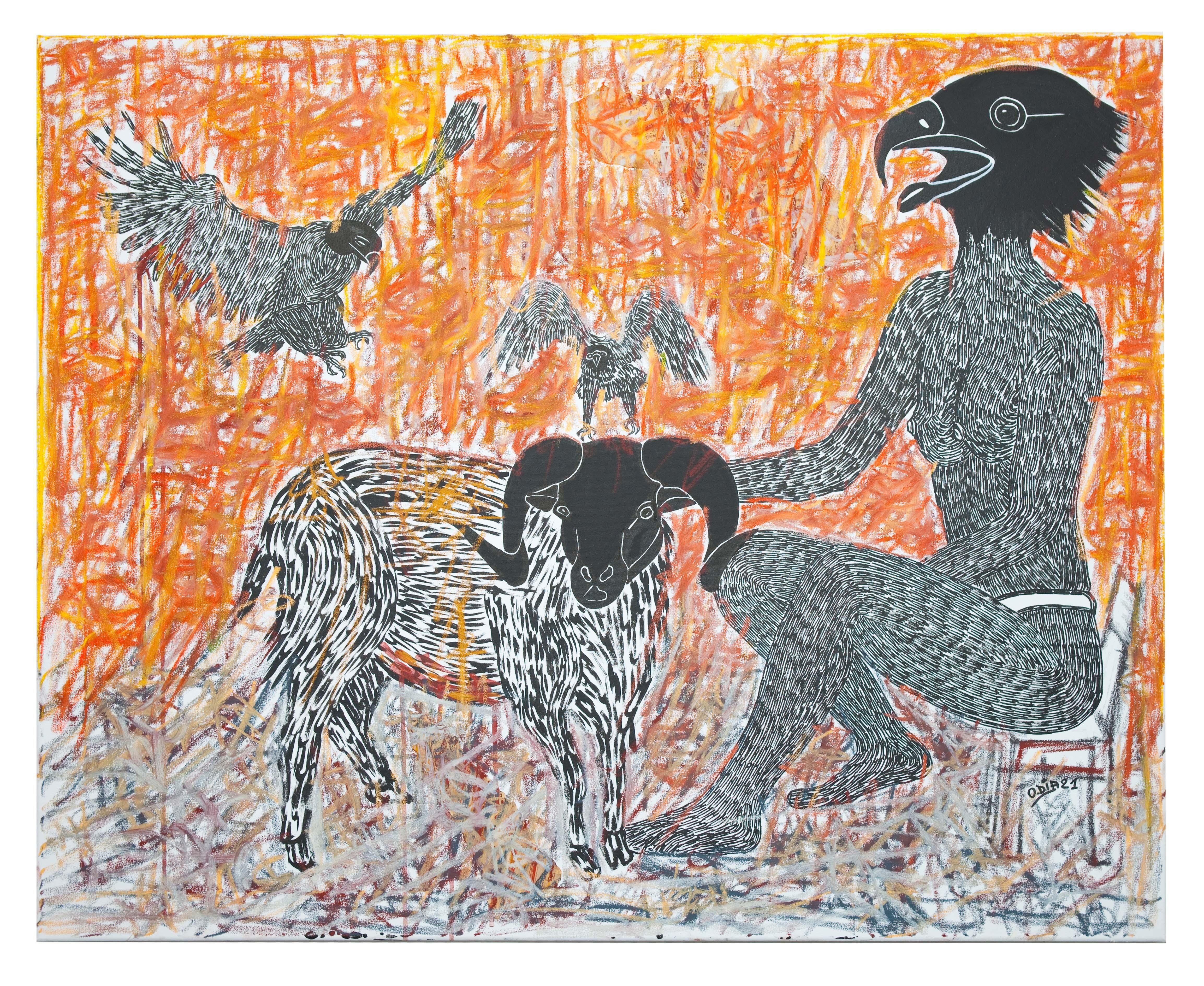 Scène de Sacrifice - African Contemporary Art