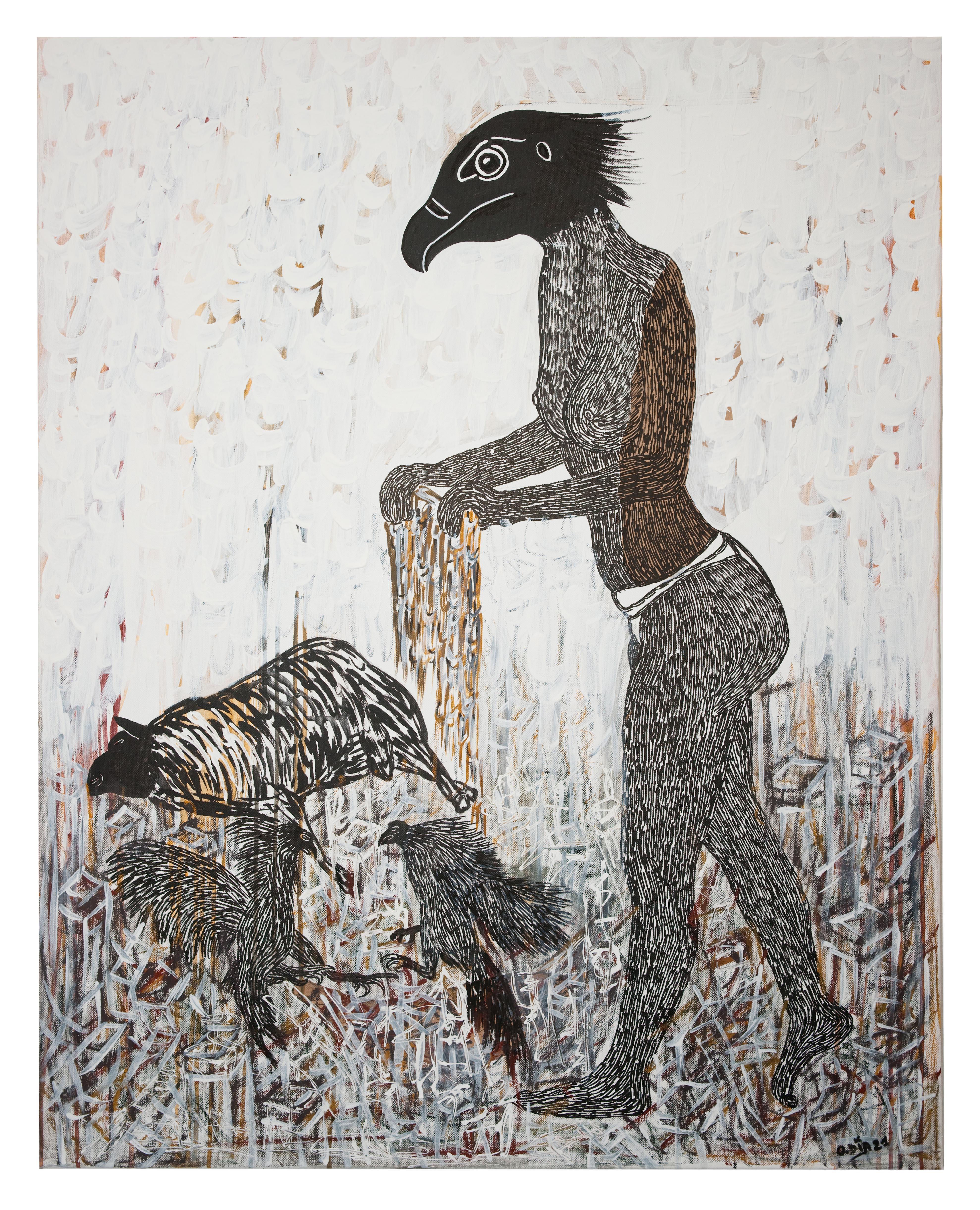 African Contemporary Art - Scène de Sacrifice IV