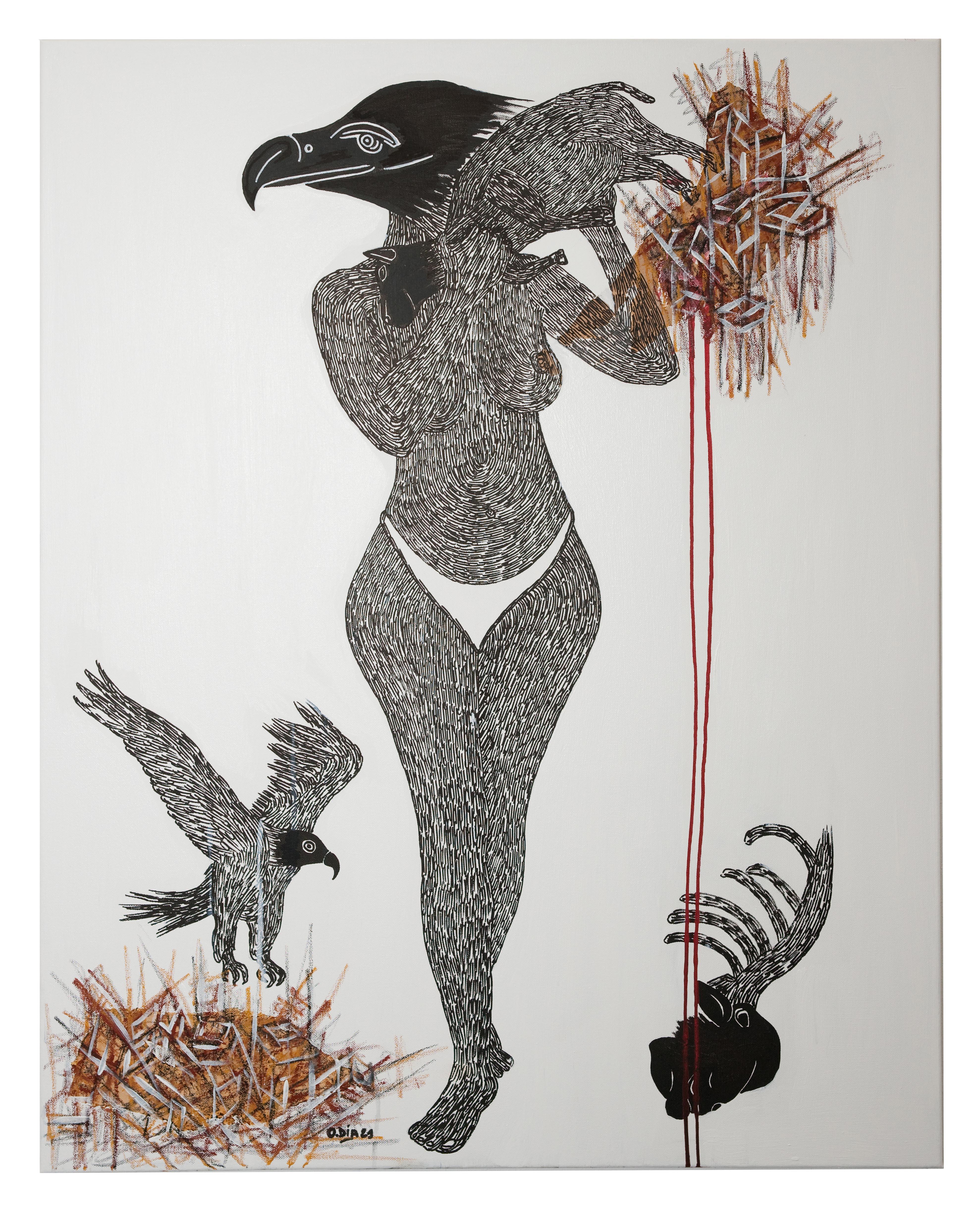 African Contemporary Art - Scène de Sacrifice V