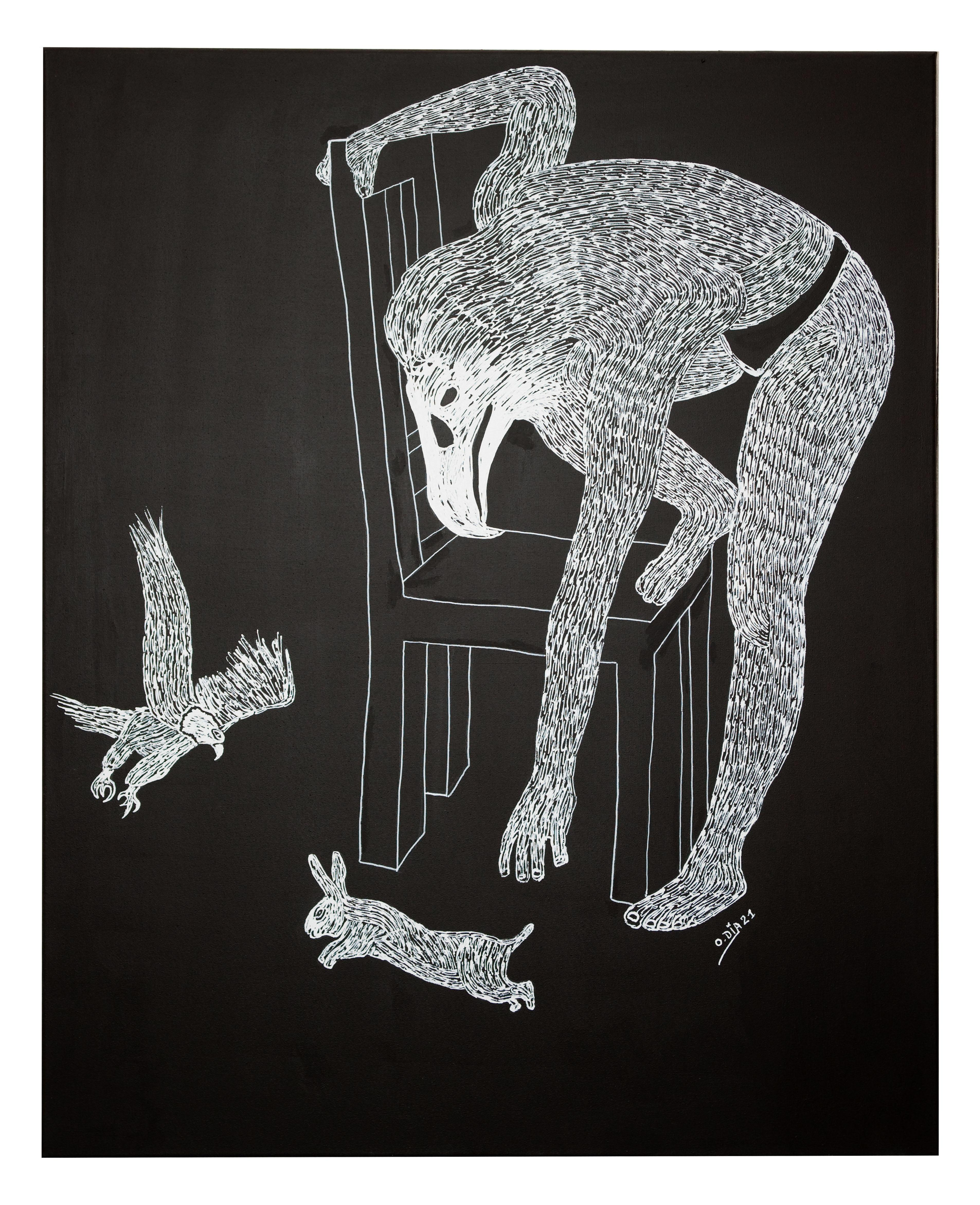 African Contemporary Art - Predator