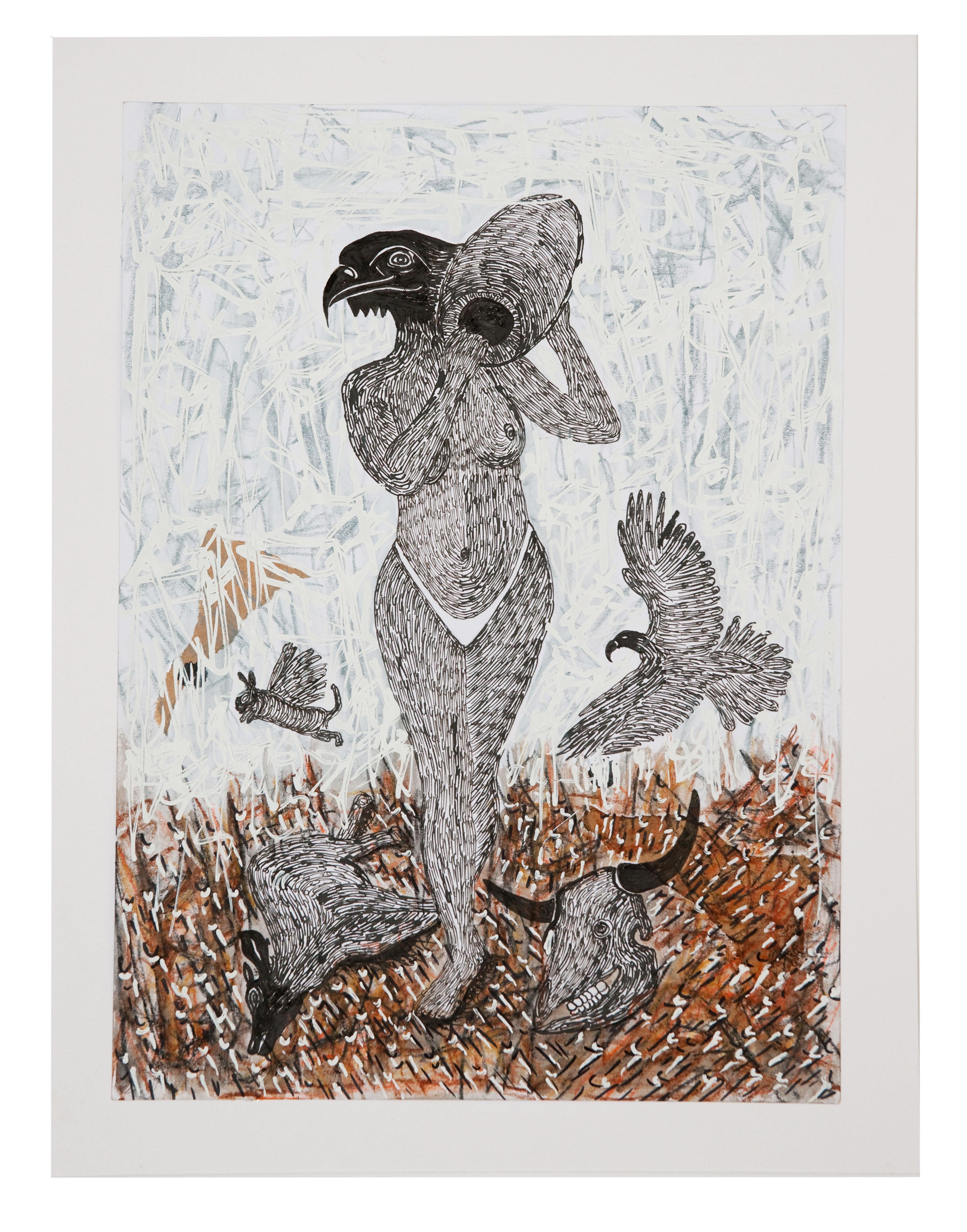 African Contemporary Art - Scène de Sacrifice VII