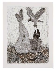 African Contemporary Art - Scène de Sacrifice VIII