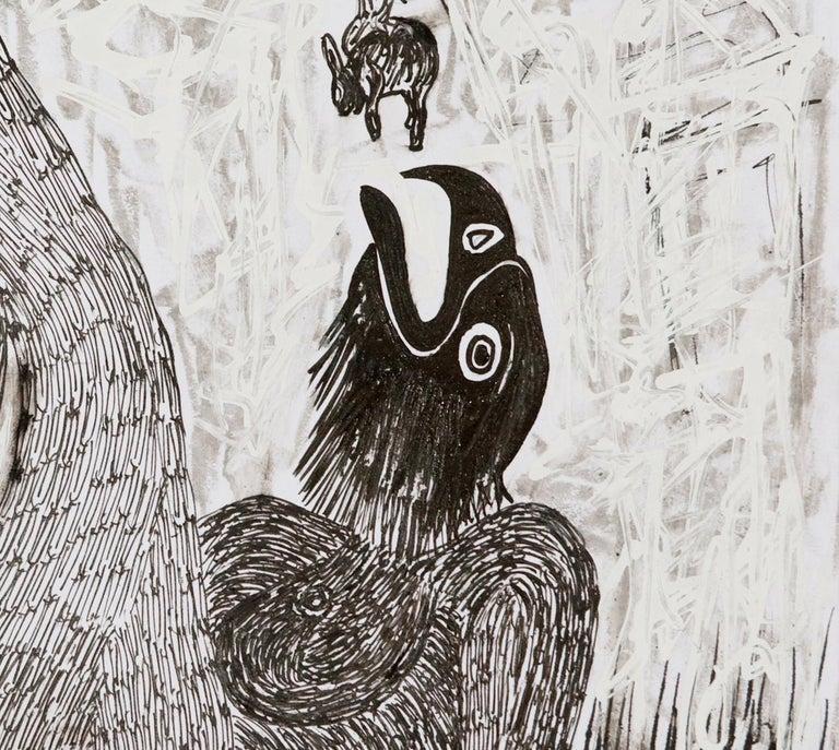 African Contemporary Art - Scène de Sacrifice VIII For Sale 1
