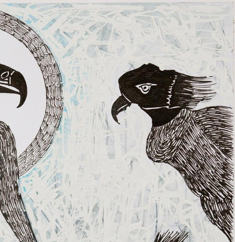African Contemporary Art - Scène de Sacrifice IX For Sale 1