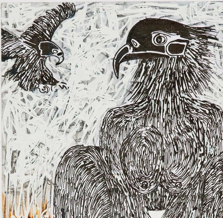 African Contemporary Art - Scène de Sacrifice X For Sale 1