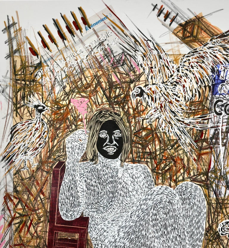 African Contemporary Art - Dame Justice V For Sale 3