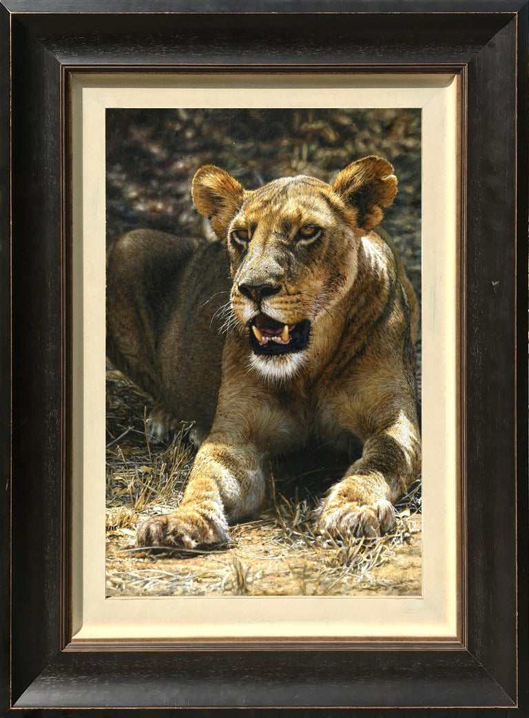 Tony Karpinski Animal Painting - Lioness