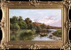 Boating On The Thames, Cliveden Woods