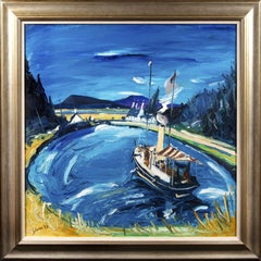 Steam Launch Corolla, Crinan Canal