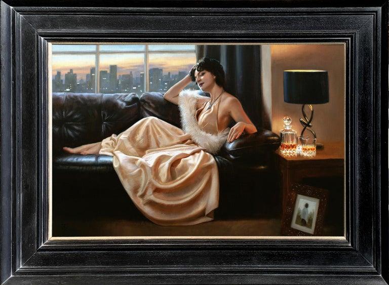 Tina Spratt Portrait Painting - Maybe