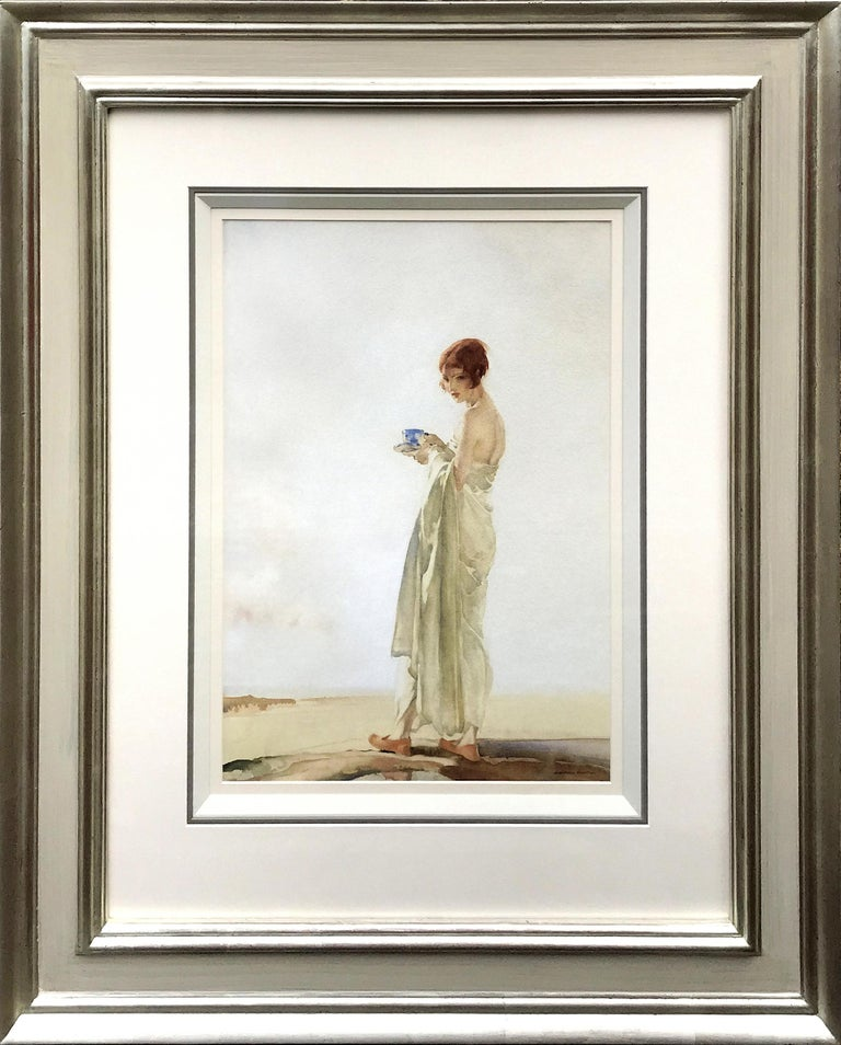 William Russell Flint Portrait - No.1 Barbara