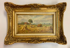 The Harvest, Impressionist Haystack 19th Century