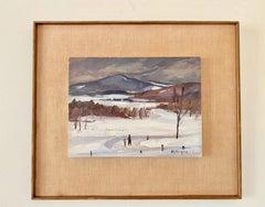 Vermont Winter Landscape