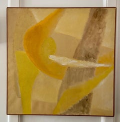 Jacqueline Harvey, Abstract Oil on Canvas