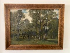Impressionist Pastoral Landscape by Will Hyett