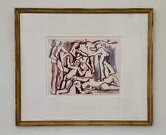 Figural Work on Paper