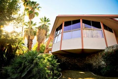 "James Schnepf ""House of Tomorrow"" Modernism Photograph Palm Springs Mid-Century"