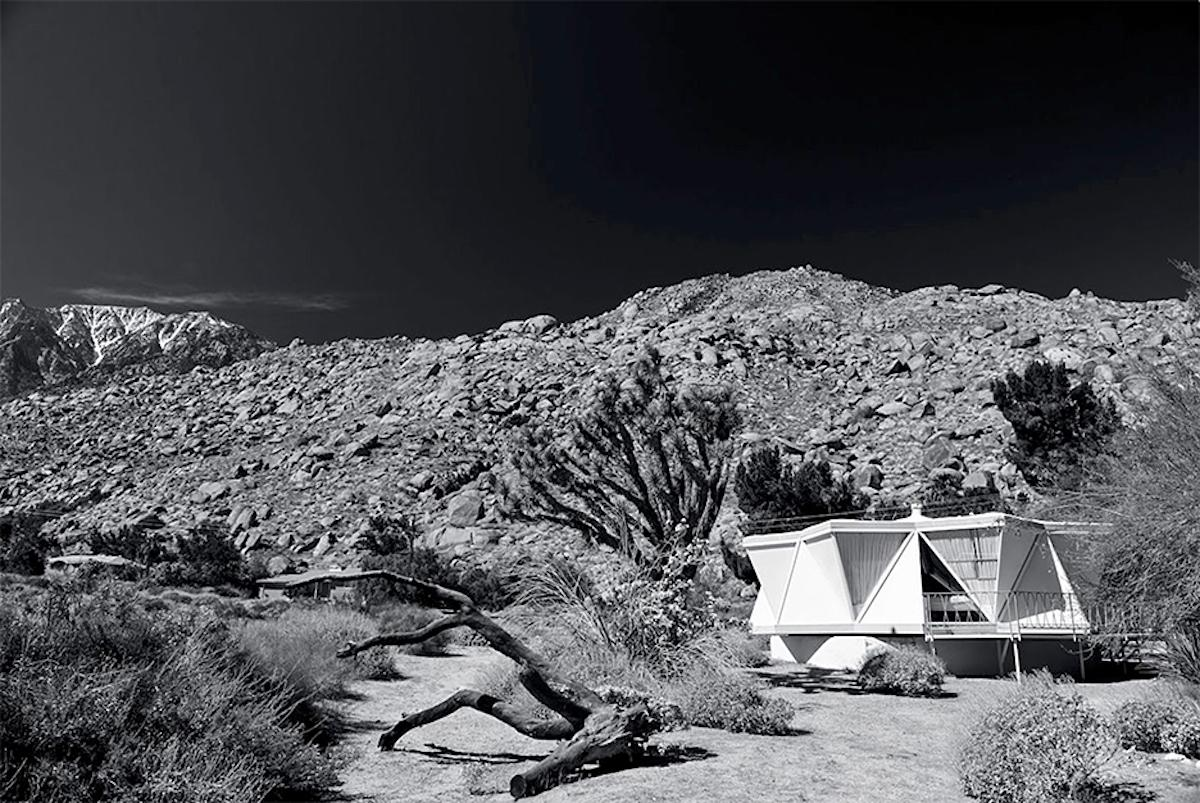 """""""D'Angelo Rotating House 1963"""" James Schnepf Photograph Palm Springs Mid-Century"""
