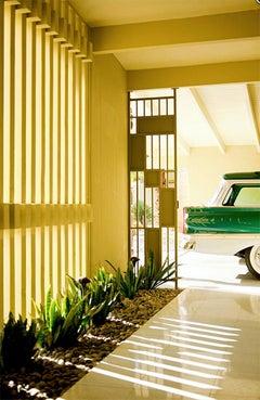 """Breezeway and Edsel Bermuda"" James Schnepf Modernism Photograph Palm Springs"