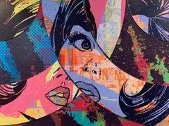 Hello & Goodbye #5, Greg Gossel Pop Art Comic Street Art Female 1950's