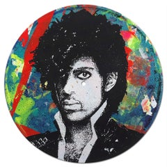 Prince Vinyl 1-7, Greg Gossel Pop Art LP Record Music (Singles & Sets Available)