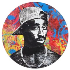 Tupac Shakur Vinyl 1-10 Greg Gossel Pop Art LP Record (Singles & Sets Available)
