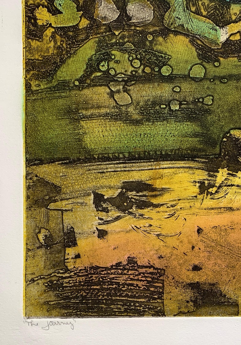 The Journey Ed II, by Malcolm Myers Intaglio Knight Series Gold Don Quixote For Sale 3