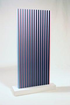Black Pink Blue Wedge
