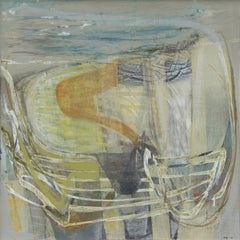 Peter Joyce, Shifting Sands. Abstract, landscape painting, France, gestural