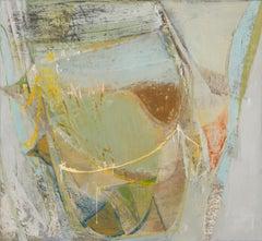 Peter Joyce, Les Près. Abstract, landscape painting, France, gestural, texture