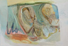 Peter Joyce, Late Summer Evenings. Huge abstract painting, large, France, colour