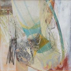 Peter Joyce, Dust Devil. Abstract, landscape painting, colour, gestural, texture