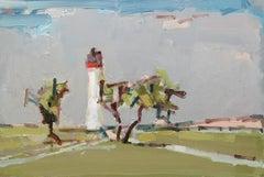 Lighthouse II, St-Martin-de-Ré oil painting