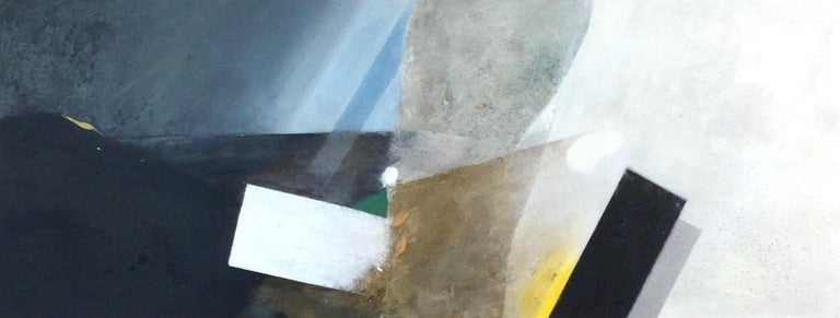 Keith Purser, Milky Way. Large oil painting, landscape, Dungeness, found objects - Mixed Media Art by Keith Purser