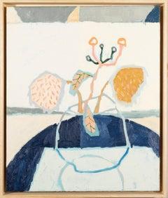 Richard Ballinger, Still life, Sunflowers, 2020 oil painting